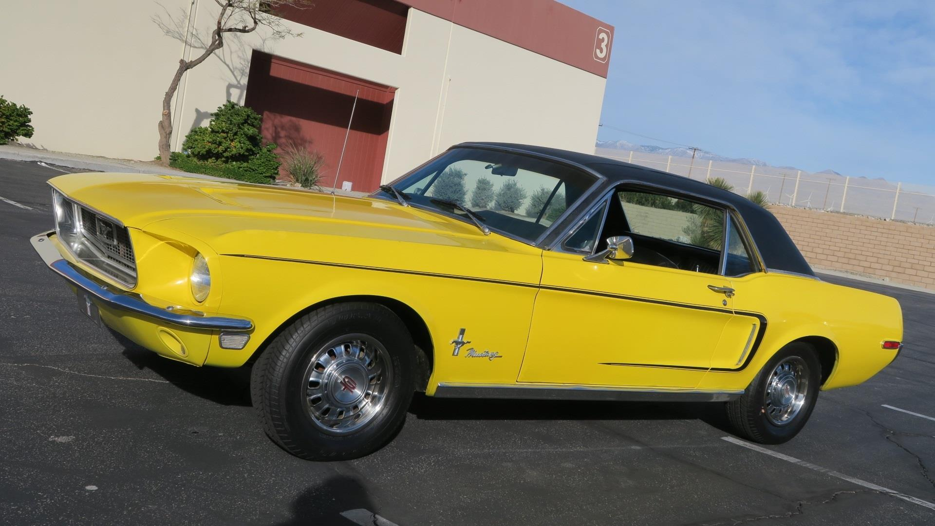 Details about 1968 ford mustang 289 c code california car p s disc clean