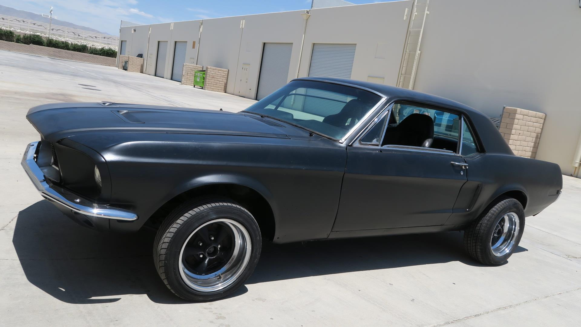 Details about 1968 ford mustang 289 c code california car 4 barrel clean floors
