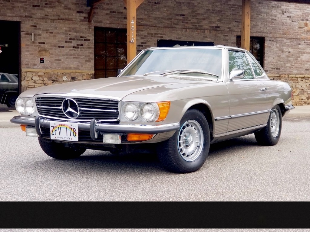 1972 Mercedes-Benz 300-Series  1972 Mercedes-Benz 350SL ONY 24,576 Miles