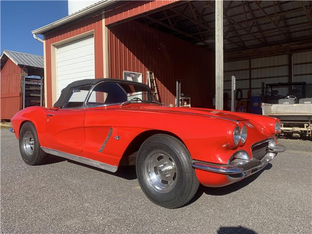 1962 Red Chevrolet Corvette   | C1 Corvette Photo 1