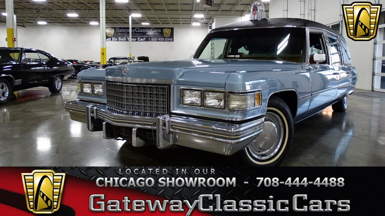 Details about 1976 Cadillac Fleetwood Hearse
