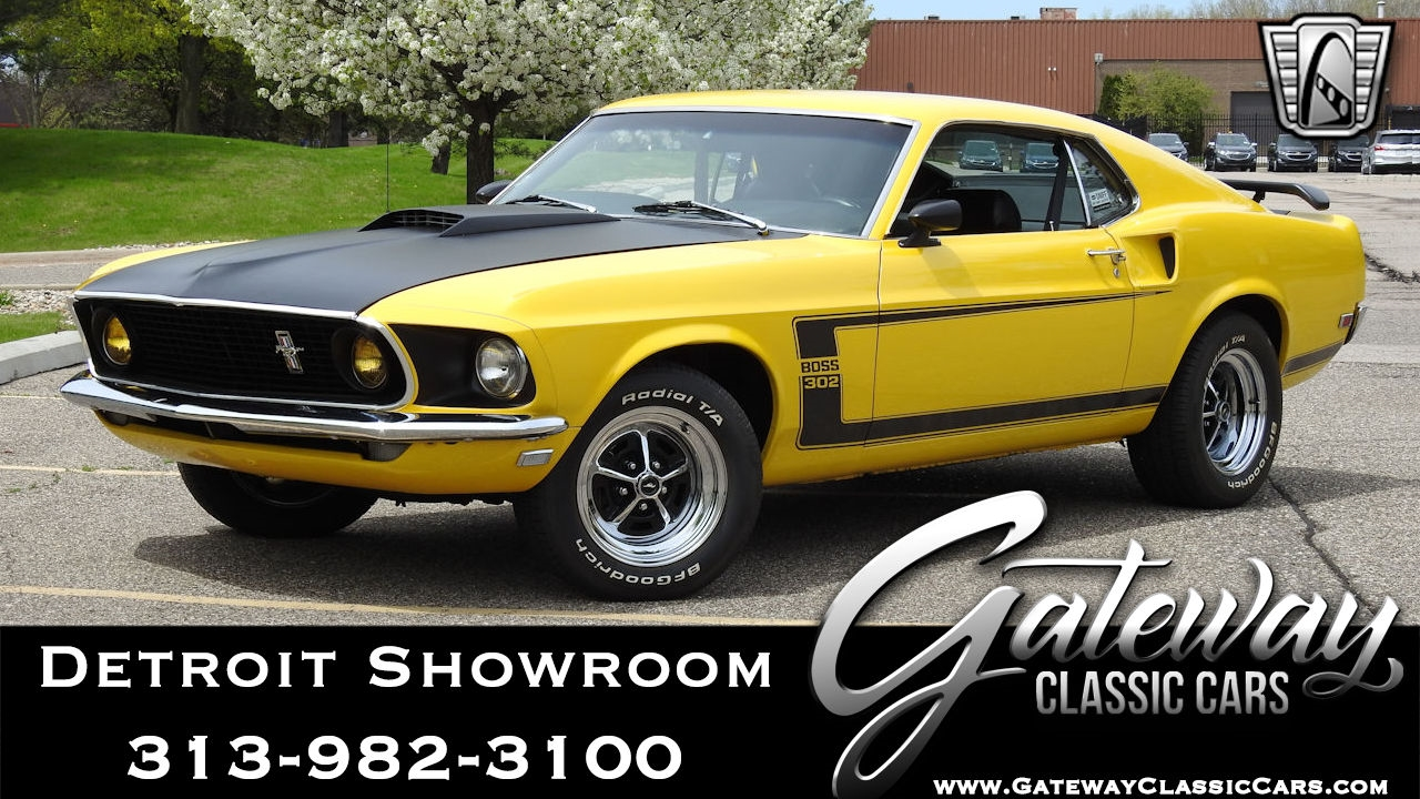 Details about 1969 ford mustang boss 302 tribute