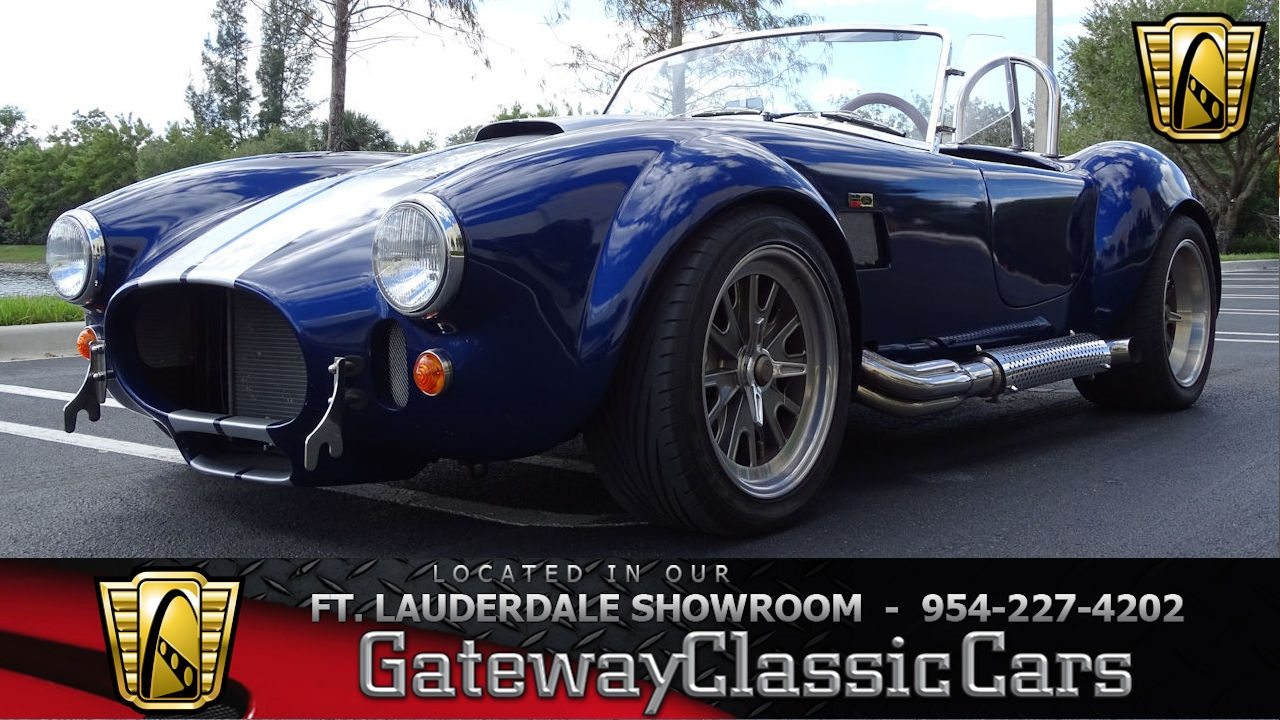 Details about 1965 Shelby Cobra Backdraft Racing