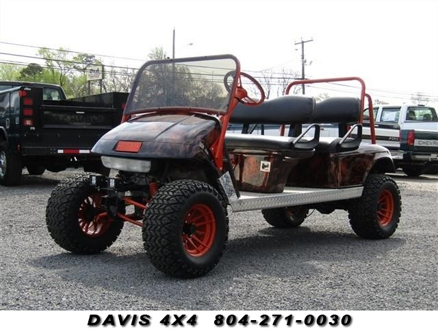 Details About 1997 EZ GO GAS LIFTED CUSTOM LIMO GOLF CART