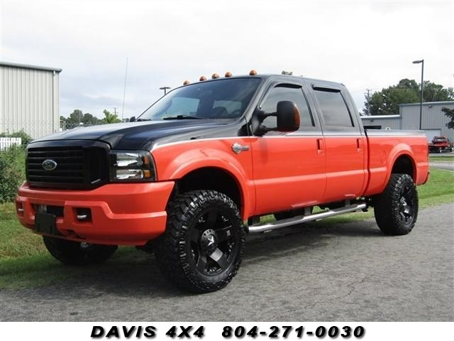 Details About 2004 Ford F 250 Super Duty Harley Davidson Diesel Lifted 4x4