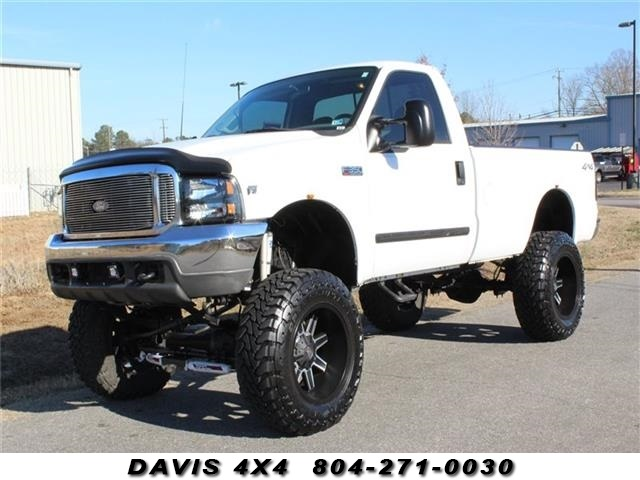 2002 Ford F350 >> Details About 2002 Ford F 350 Super Duty Xlt Lifted 4x4 Regular Cab Long Bed
