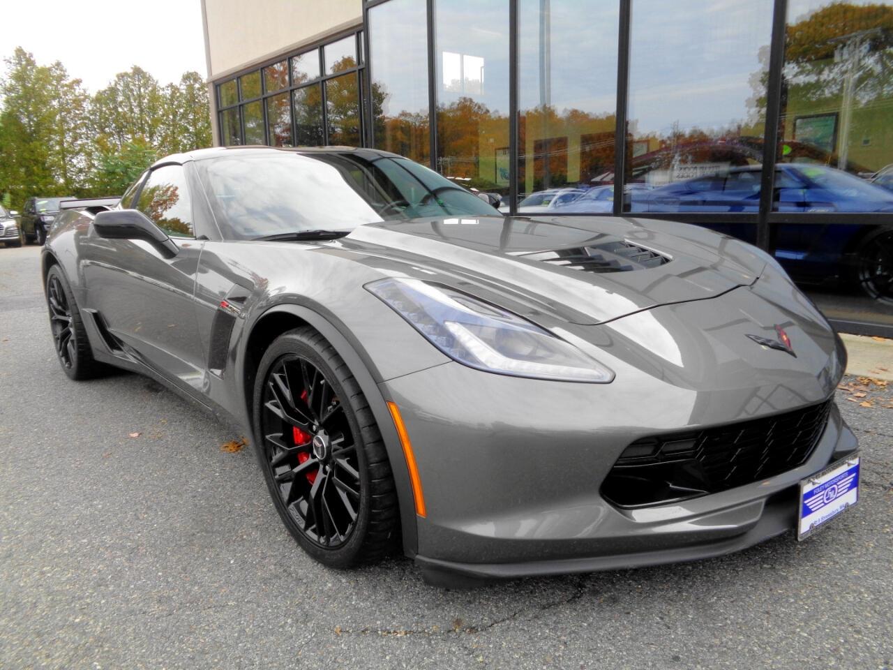 2015 Gray Chevrolet Corvette Z06 3LZ   C7 Corvette Photo 2