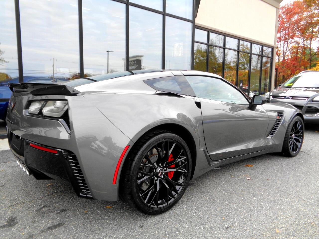 2015 Gray Chevrolet Corvette Z06 3LZ   C7 Corvette Photo 4
