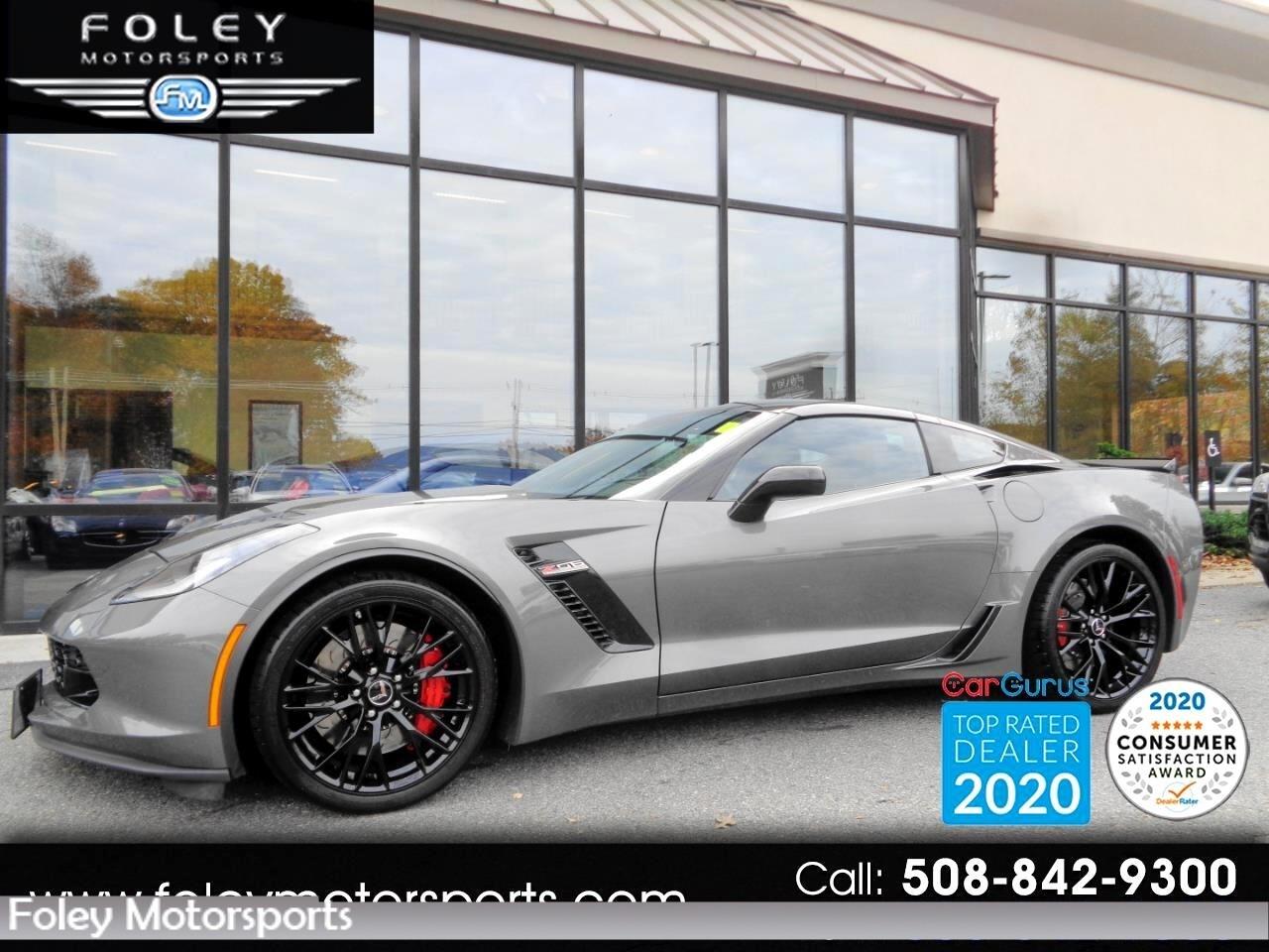 2015 Gray Chevrolet Corvette Z06 3LZ   C7 Corvette Photo 1