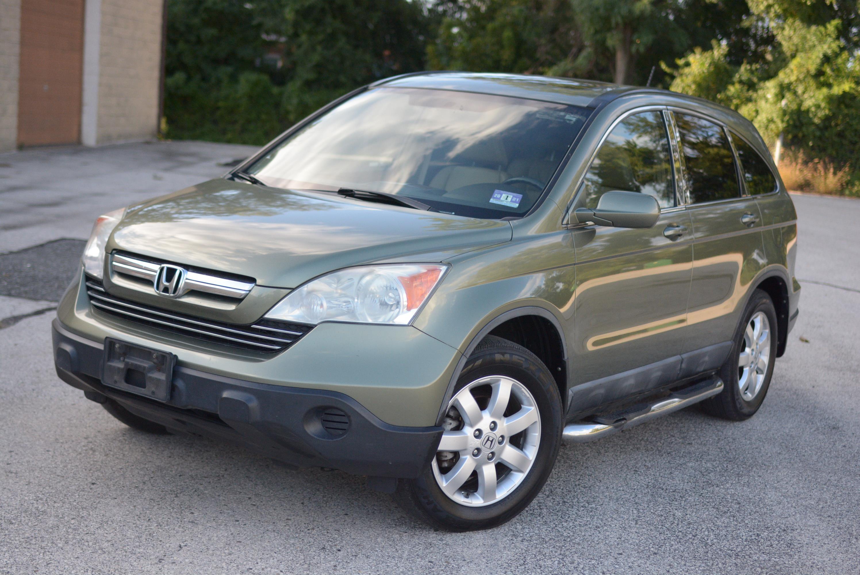 2008 Honda Cr-v Ex-l Runs Good, Leather , Roof , Awd, Cold ...