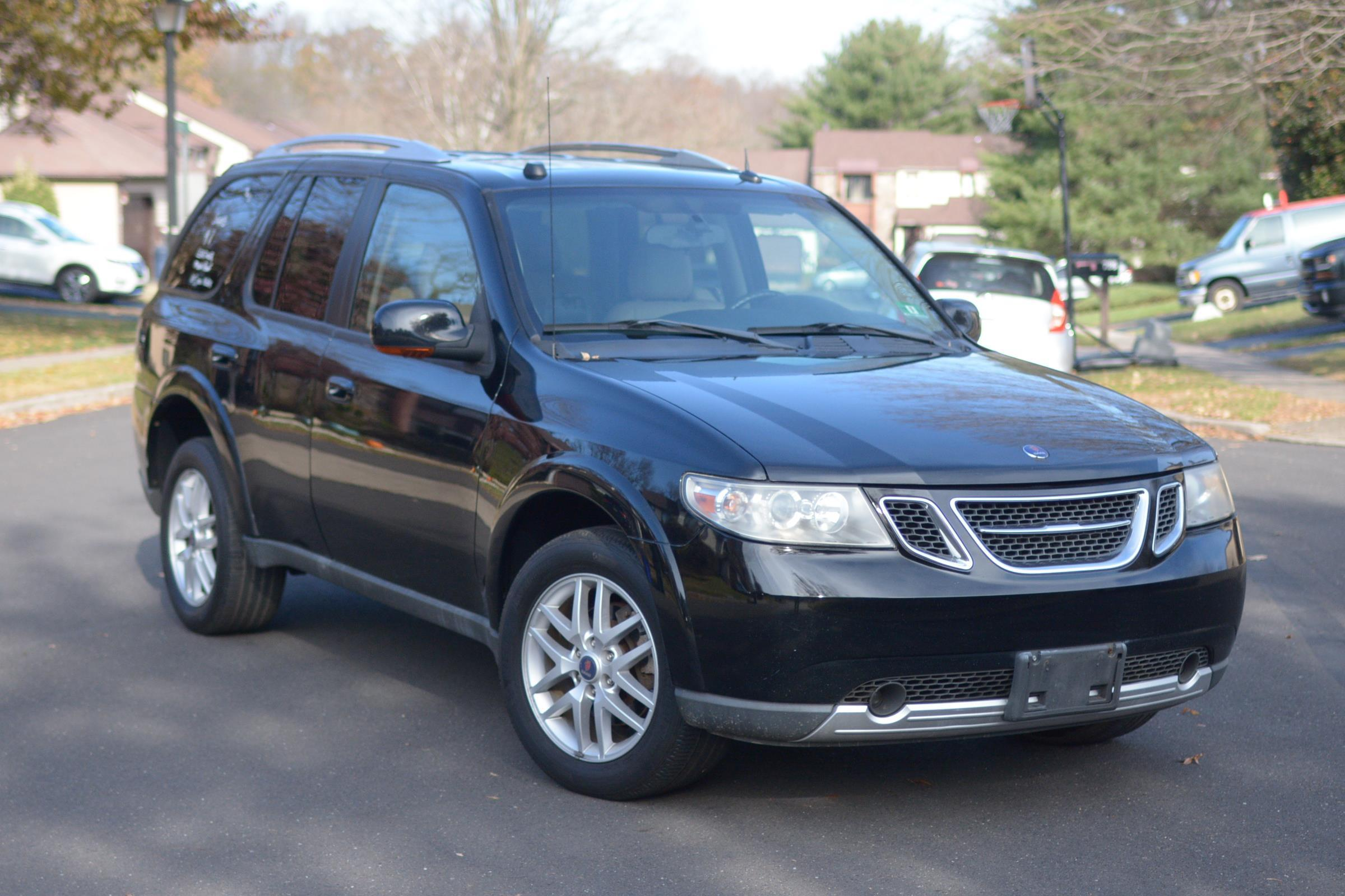 2005 SAAB 9-7X NICE AND CLEAN, LEATHER , ROOF , CLEAN CARFAX RUNS GOOD
