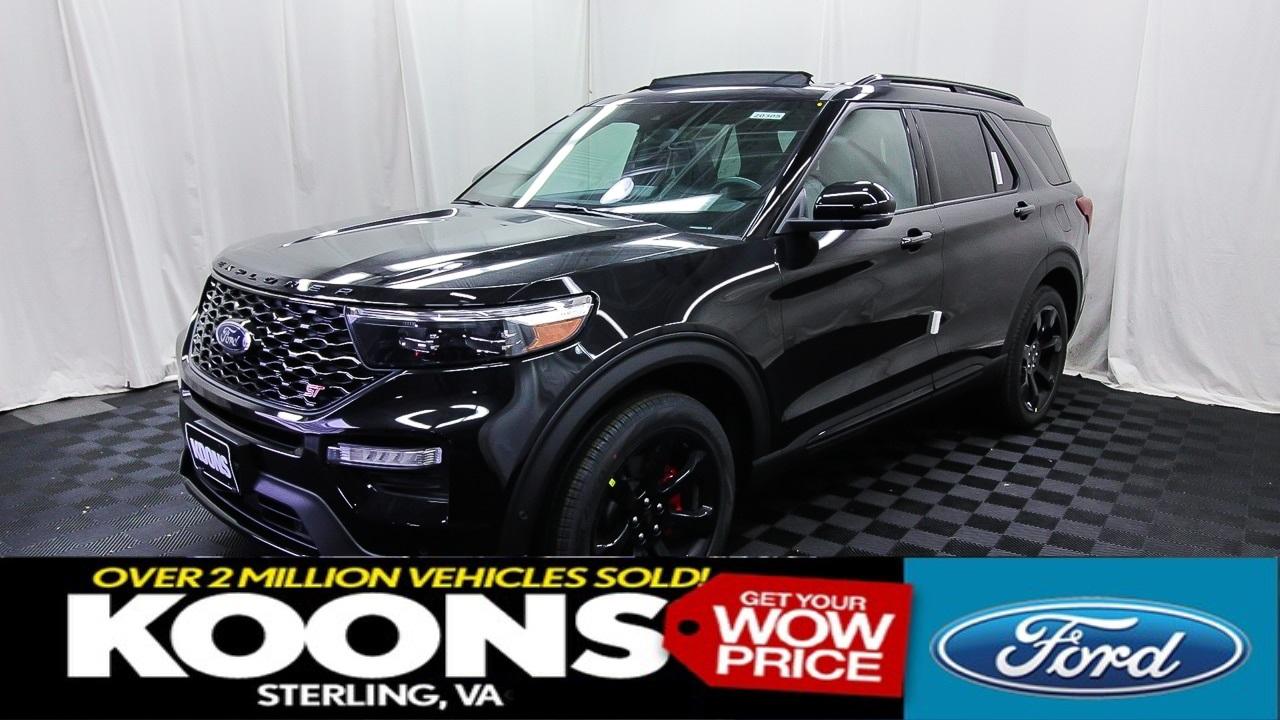 2020 ford explorer st price