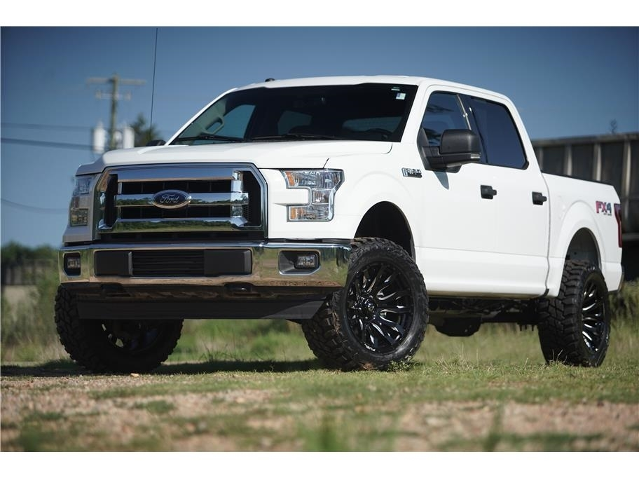 2017 Ford F150 Lifted >> Details About 2017 Ford F 150 Super Crew 4wd Lifted 5 0 V8 Upgraded