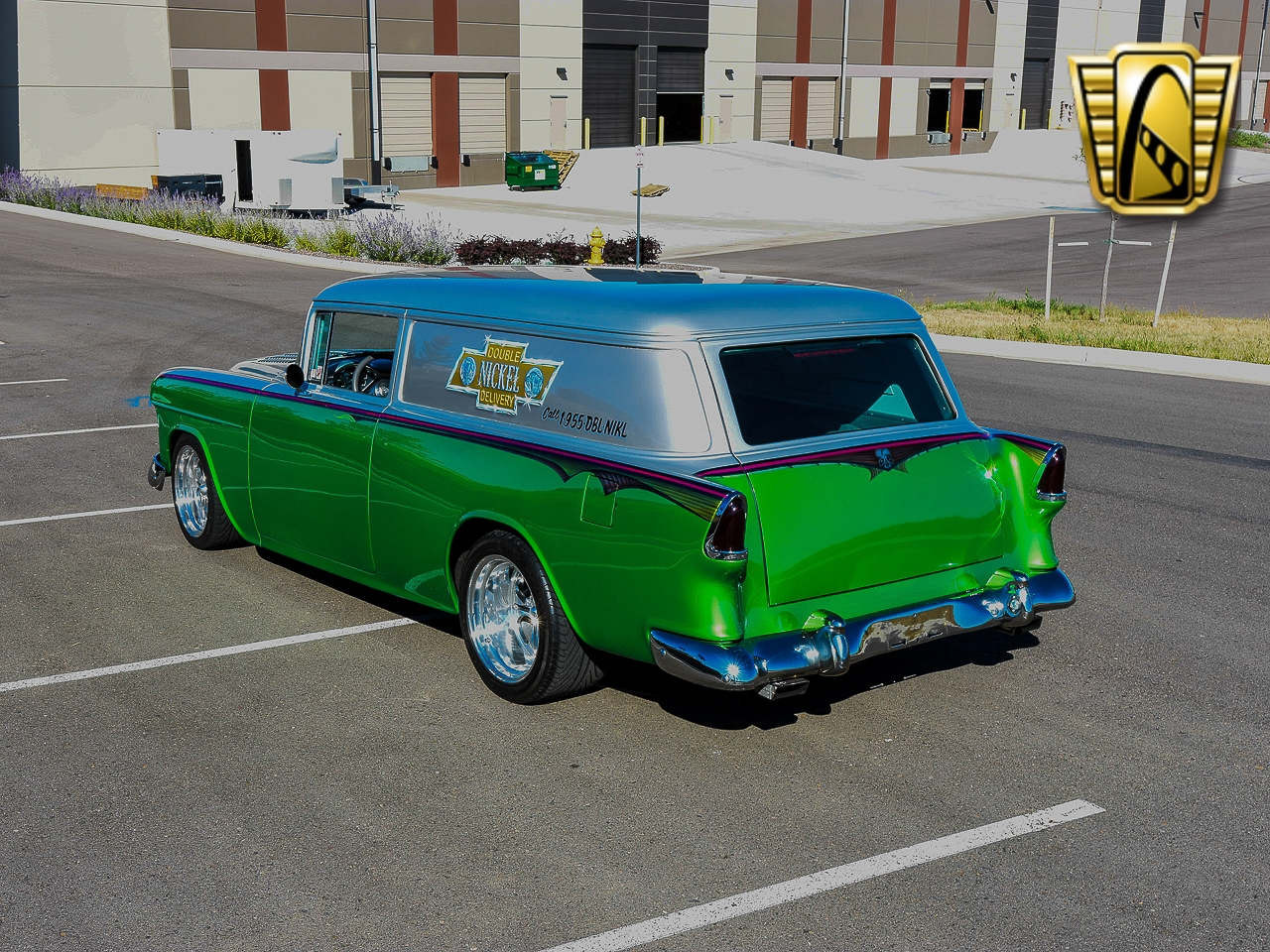 Details about 1955 Chevrolet Sedan Delivery --