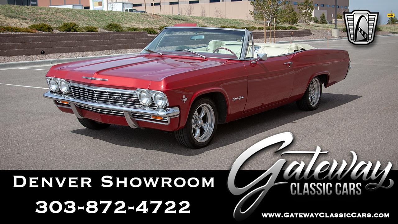 1965 Chevrolet Impala Ss Ebay