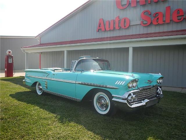 1958 CHEVROLET Impala Convertible   eBay
