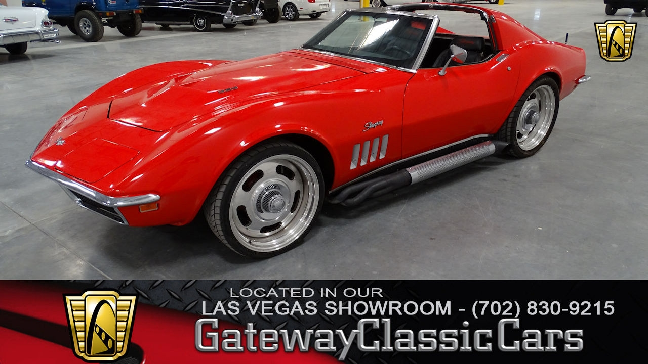 Corvette Stingray 1969 >> Details About 1969 Chevrolet Corvette Stingray