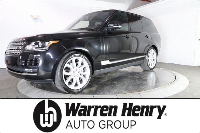 Warren Henry Range Rover >> 2016 Land Rover Range Rover 3 0l V6 Supercharged Hse Ebay